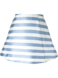 юбка А-образного кроя  в полоску  Vivetta