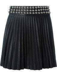 плиссированная юбка мини Philipp Plein