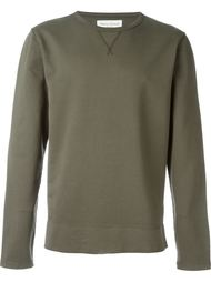 faded crew neck sweatshirt Officine Generale