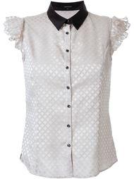 рубашка с контрастным воротником   Loveless