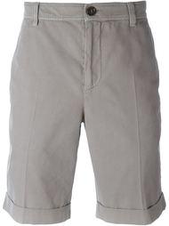 шорты с карманами с клапанами Brunello Cucinelli