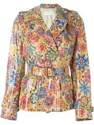 пиджак с абстрактным принтом Wunderkind