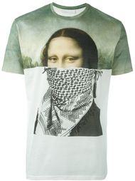 футболка с принтом 'Mona Lisa' Neil Barrett