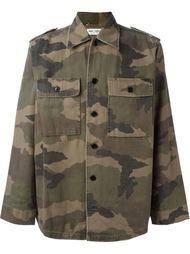 куртка в стиле мидитари Saint Laurent