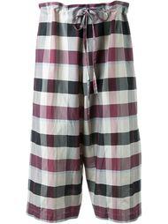 укороченные брюки 'Thai'  Forme D'expression