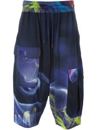 blur print shorts Y-3
