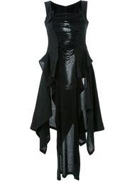 асимметричное платье корсетного кроя Yohji Yamamoto