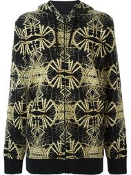 bone print hoodie Marcelo Burlon County Of Milan