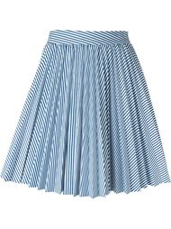 stripe pleated skirt Cristiano Burani