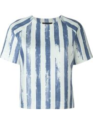 striped print blouse Cristiano Burani