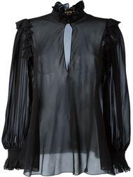 прозрачная блузка Giambattista Valli