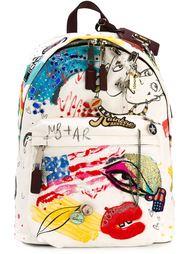 парусиновый рюкзак 'Collage Print' Marc Jacobs