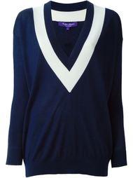 свитер с V-образным вырезом Ralph Lauren