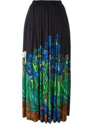 плиссированная юбка с цветочным принтом Wunderkind