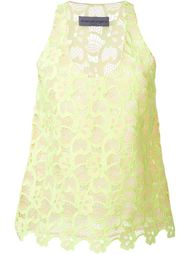 sleeveless lace top Emanuel Ungaro