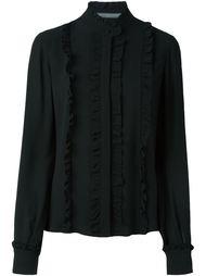 ruffled blouse Alexander McQueen