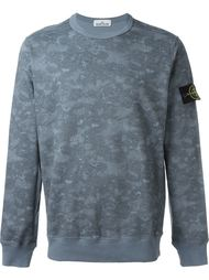 camouflage print sweatshirt Stone Island