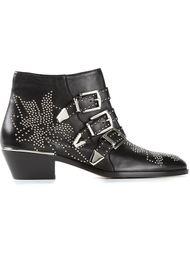 ботинки 'Suzanna' по щиколотку с заклёпками Chloé