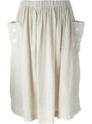 юбка с карманами по бокам Comme Des Garçons Comme Des Garçons