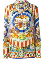 рубашка с принтом Carretto Sicilliano Dolce & Gabbana