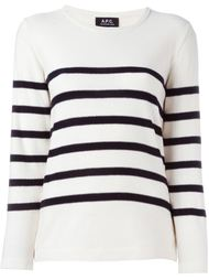 полосатый свитер A.P.C.