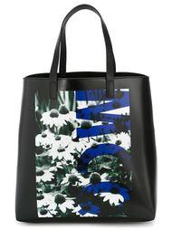 сумка-тоут с принтом маргариток McQ Alexander McQueen