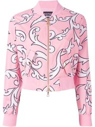 куртка-бомбер с графическим принтом Boutique Moschino