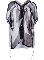 frilled neck blouse Ann Demeulemeester