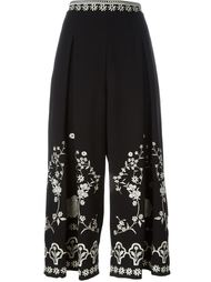 embroidered culottes Temperley London