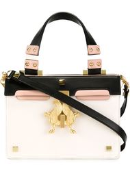 colour block crossbody bag Giancarlo Petriglia