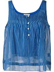 Edith Sleeveless Striped Top Mes Demoiselles
