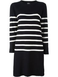 striped jumper dress A.P.C.