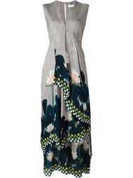 драпированное платье с цветочным принтом Wunderkind