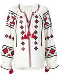 embroidered peasant blouse Vita Kin