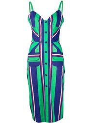 striped dress Tanya Taylor