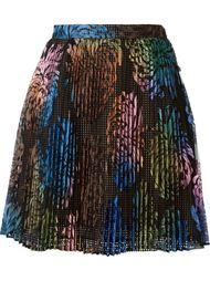 юбка с цветочным узором Marco De Vincenzo