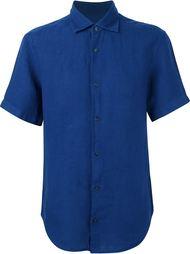 рубашка с короткими рукавами Z Zegna