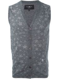 knitted waistcoat Hydrogen