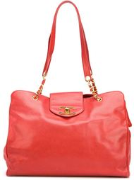 сумка-тоут мешковатого кроя Chanel Vintage