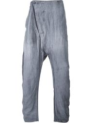 drop-crotch loose fit 'Flight' trousers Lost & Found Ria Dunn