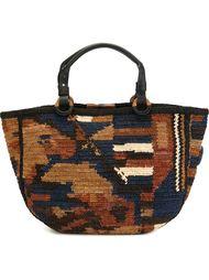 сумка с камуфляжным эффектом Jamin Puech
