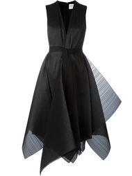 платье с V-образным вырезом Maison Rabih Kayrouz