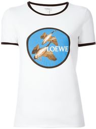 футболка с принтом уток Loewe