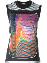 psychedelic print top  Jeremy Scott