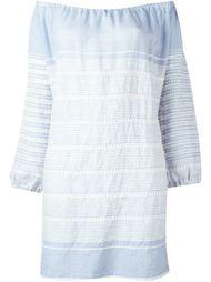 мини-платье с открытыми плечами 'Almaz'  Lemlem
