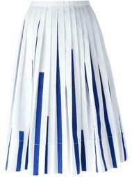 плиссированная юбка с узором  Io Ivana Omazic