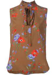 floral print blouse Nº21