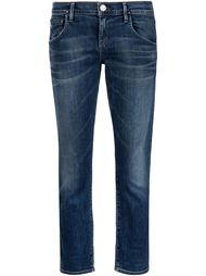 укороченные джинсы-бойфренды Goldsign