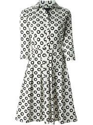 circles print shirt dress Samantha Sung