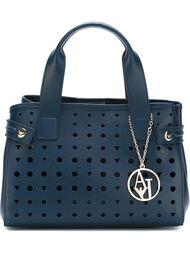 сумка-тоут с перфорированным дизайном  Armani Jeans